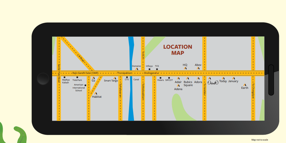 location map akshaya orlando
