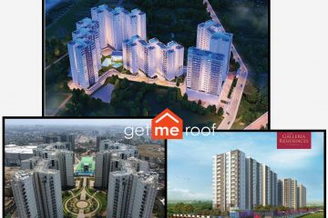 Comparison - Alliance Galleria vs The Metrozone vs Godrej Azure, Pallavaram, Anna Nagar, Padur - Chennai