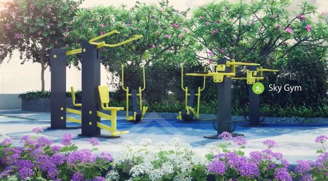 The Green Terraces - Sky Gym