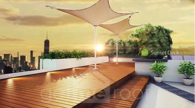 The Green Terraces - Sunset Deck