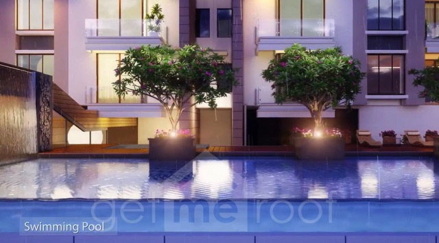 The Green Terraces - Swimming Pool - Front View
