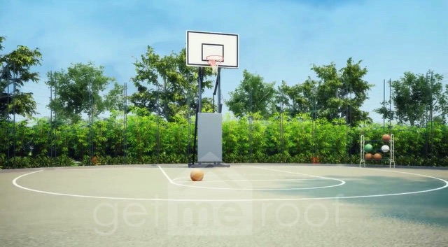 The Green Terraces - Basketball Court
