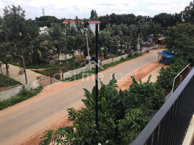 Assetz Soul & Soil, Hennur Road - View from Bedroom 4 Balcony on Terrace