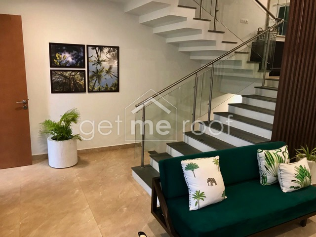Assetz Leaves & Lives, Sarjapur Road - Living Area & Stairs View - 2